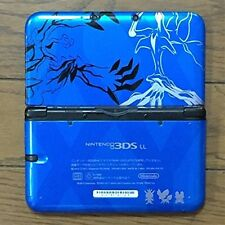 Nintendo 3DS LL XL Pokemon X Pack Limited Xerneas Yveltal Blue Console game F/S