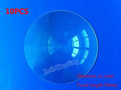 Wholesale-10PCS 90mm Diameter Fresnel Lens for DIY TV Projection Solar Cooker