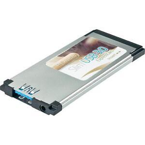 Express-Card-USB-3-0-1-Port-Retail-slim-Windows-7-8-fuer-Notebook-Laptop