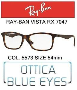 28c88ccb5e Caricamento dell immagine in corso Occhiali-da-Vista-RAYBAN -RX-7047-col5573-54mm-