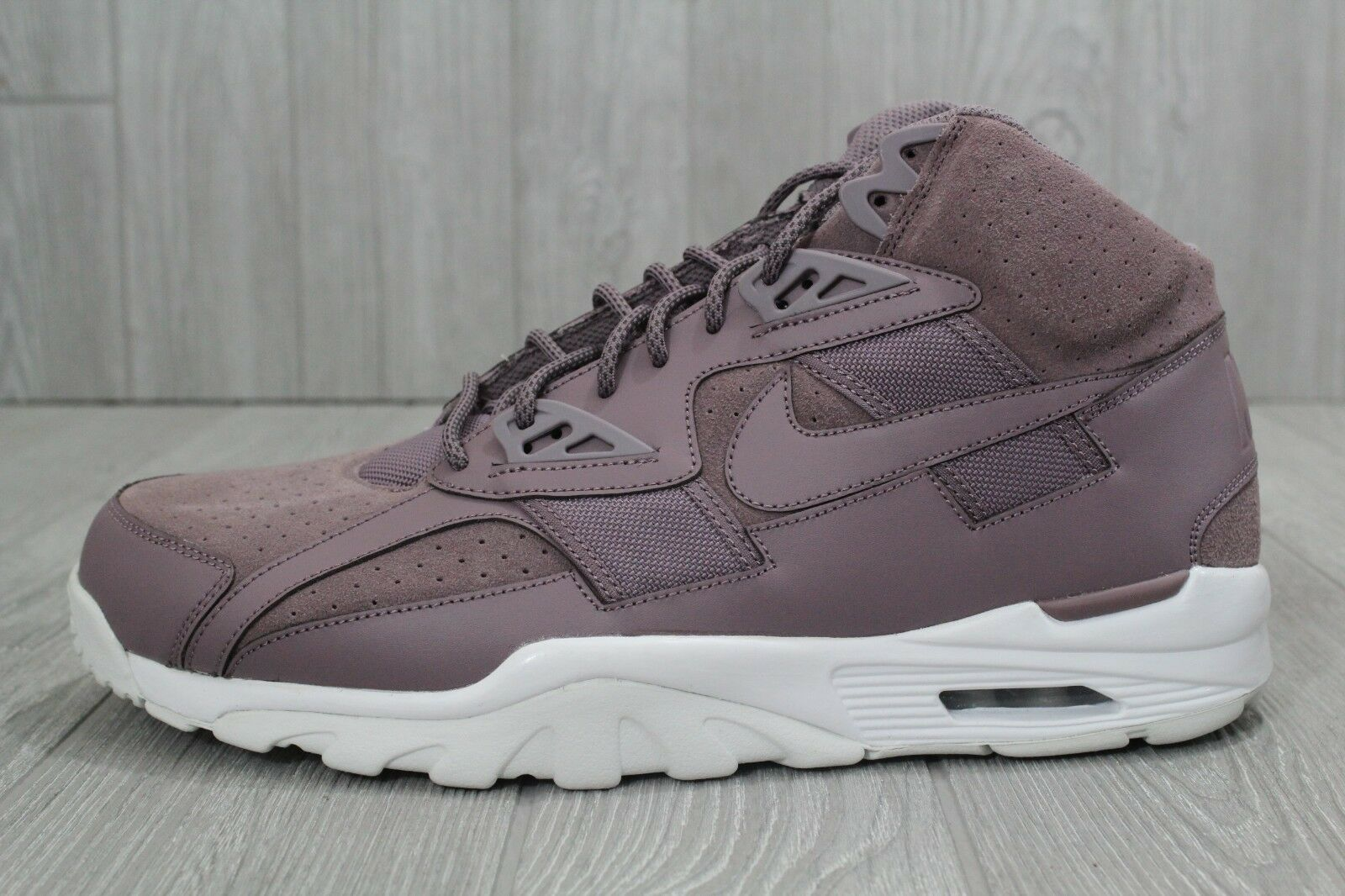 463e1ee0375e 27 New Nike Air Trainer SC High 302346 201 Taupe Grey Shoes Mens Size 14