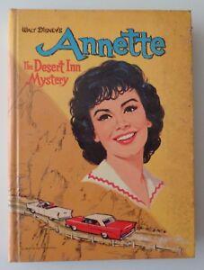 Walt Disney Annette The Desert Inn Mystery Book 1961 Whitman Doris Schroeder