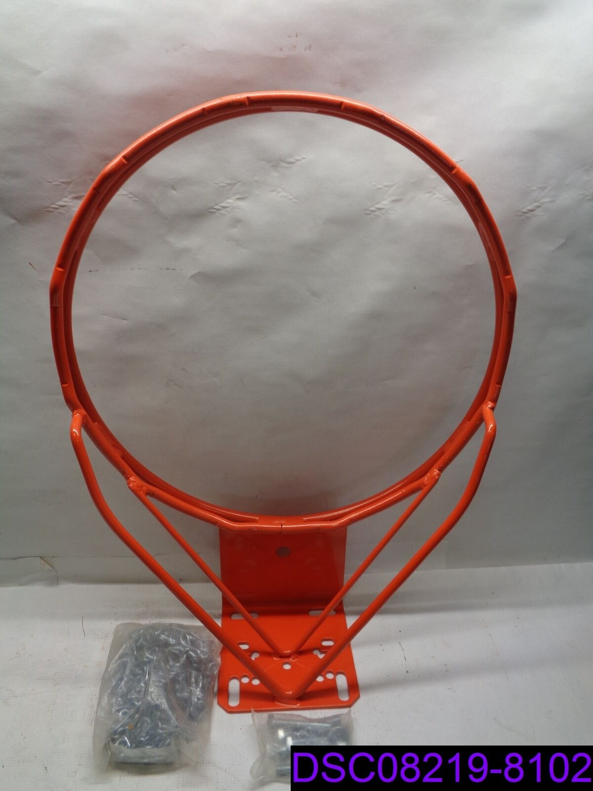 Bison Front Mount Double Rim Basketball Goal P N BA37