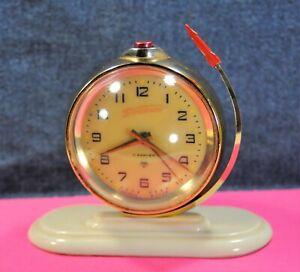 034-VOSTOK-034-11J-cal-5671-Gagarin-034-Sputnik-034-Very-Rare-Russian-Alarm-clock-c-1961-039-s