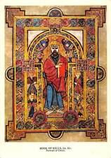 The Book of Kells Illuminated Manuscript of the Four Gospels Postcard