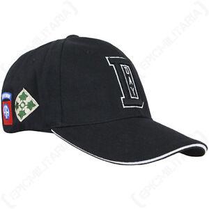 meilleures baskets service durable 100% de haute qualité Détails sur Noir D-DAY Casquette Baseball - américain soleil pic chapeau  militaire armée