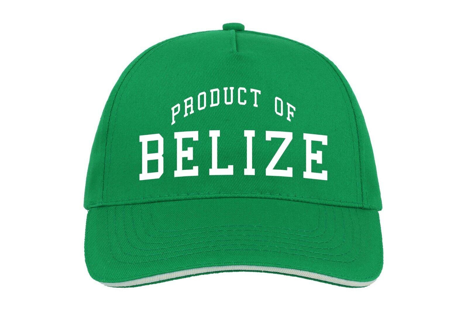 Belize Produkt Von Baseballmütze Cap Geburtstagsgeschenk Jedem Ort Country