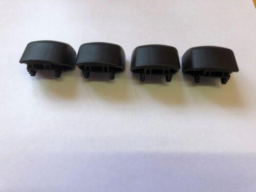4 MONT BLANC ROOF BAR END CAPS FITS CLASSIC RANGE CAR 4x4 SUV MPV SALOON HATCH