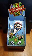 Mario Pinball Land RARE STANDEE/STORE DISPLAY (Nintendo Game Boy Advance)