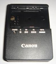Chargeur D'ORIGINE CANON LC-E6E LP-E6 EOS 60D 6D 7D 5D Mark II REAL ORIGINAL