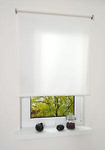 springrollo mittelzugrollo schnapprollo rollo wei breite 60 200 cm l nge 180 cm ebay. Black Bedroom Furniture Sets. Home Design Ideas