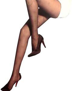 New Womens Abstract Patterned Sheer Mesh Thin Lace Socks Leggings Um Jeden Preis