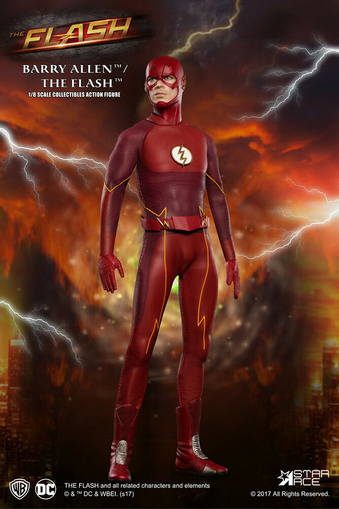 The Flash Series 2 TV Real Master Version 1 8 Action Figure STAR ACE