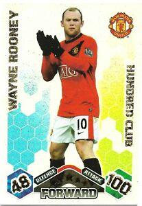 Match Attax 2011//12 Wayne Rooney 100 cien Club no 424 Como Nuevo