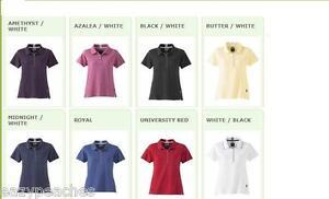ADIDAS-GOLF-Ladies-Size-S-XL-2XL-Climalite-Stretch-Interlock-Womens-Polo-Shirts
