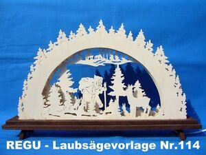 "REGU - Laubsägevorlag<wbr/>e Schwibbogen Nr.114   ""Knecht Ruprecht""  ++++++++++++++<wbr/>+++"