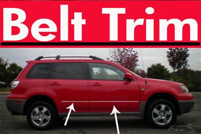 Mitsubishi ECLIPSE CHROME SIDE BELT TRIM DOOR MOLDING 2006 07 08 09 10 2011 2012