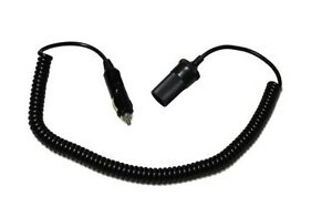 New-Curley-Extension-Cord-Lead-Power-Cable-Cigarette-Lighter-Plug-Socket-Adapter