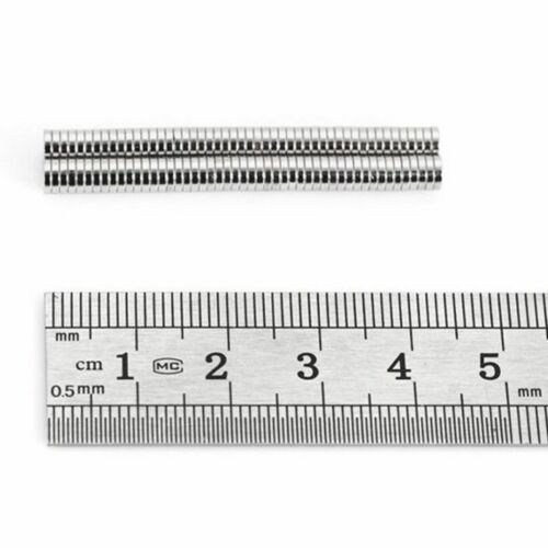 20 Stück Neodym Magnet Scheiben Rund Disc Magnets Earth N38 4 x 1mm Neodymium