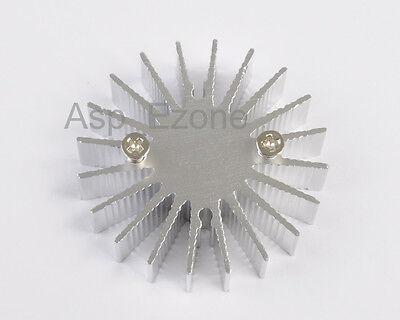 10PCS 1W High Power LED Heat Sink Round Aluminium Cooling fin 36*10mm
