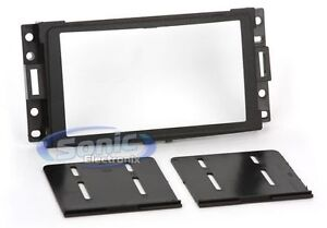 Scosche-GM1595B-Double-DIN-Install-Car-Dash-Kit-for-Select-2000-13-GM-Vehicles