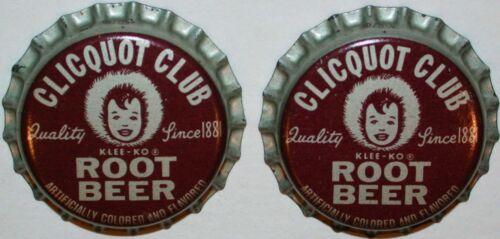 Soda pop bottle caps Lot of 25 CLICQUOT CLUB ROOT BEER cork unused new old stock