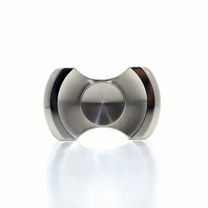 NEW Stainless Steel Metal Premium EDC R188 Gemini Fidget Spinner LEAD-FREE