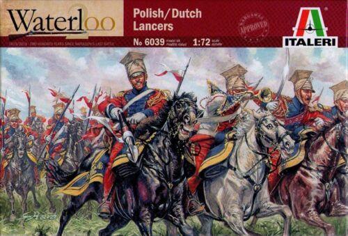1:72 Italeri Polish//Dutch lancers Waterloo