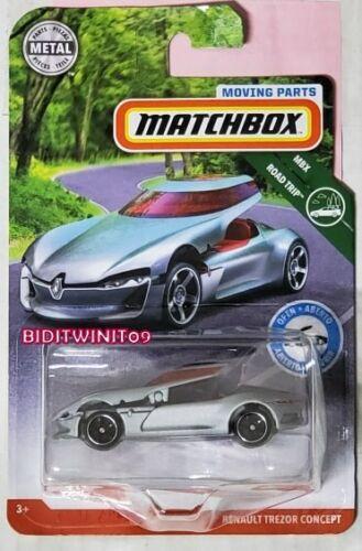 MATCHBOX 2019 MOVING PARTS MBX ROAD TRIP RENAULT TREZOR CONCEPT
