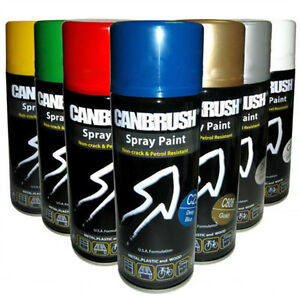 Best Aerosol Spray Colour Paint Interior Exterior For Metal Plastic Wood Ebay