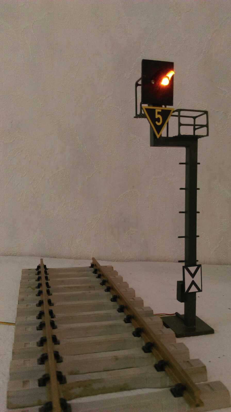 Spur G   Spur 2  Lichtsignal     Ks-System DB AG     HSB    Vorsignal
