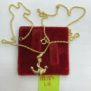 Gold-Authentic-18k-saudi-gold-necklase-and-pendant-j