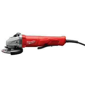Milwaukee 4-1/2 in. Small Angle Grinder Lock-On 6142-830 Certified Refurbished