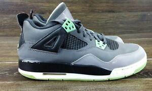 3afe9ece7ff329 Nike Air Jordan 4 Retro Green Glow (GS) Youth Size 7Y 408452-033