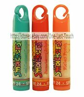 Smacker Lip Balm/gloss Sun Spf 24 Reusable Clip Cap Uncarded You Choose