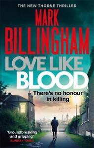Love-Like-Blood-Tom-Thorne-Novels-Billingham-Mark-New-Book