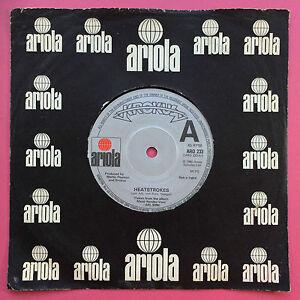 Krokus-Heatstrokes-Shy-Kid-Ariola-ARO-233-Ex-Condition-A1-B1
