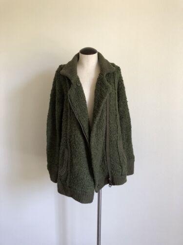 Jacket Olive Ull People Sweater Størrelse Xs Free Green OHR7qnxww