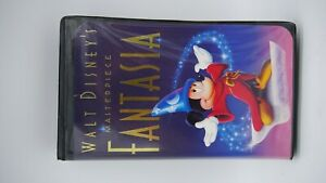 Fantasia - Walt Disney's Masterpiece (VHS 1991) #1132 Clamshell Case