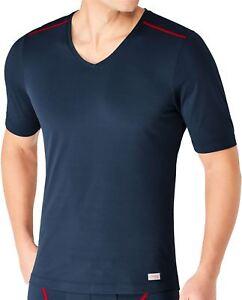 SLOGGI-spostare-FLEX-V-Neck-T-SHIRT-MEN-039-S-Underwear-Top-Sport-Maglia-Manica-Corta-Palestra