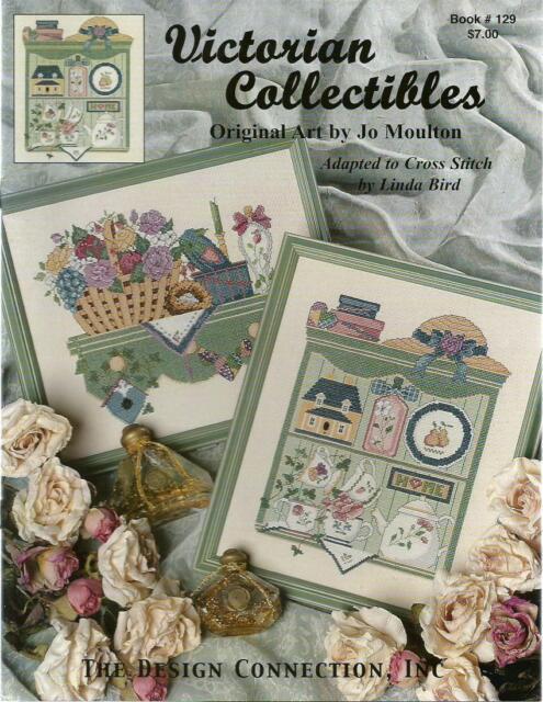 Victorian Collectibles Linda Bird Jo Moulton DC #129 Cross Stitch Pattern NEW