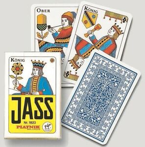 Einfachdt.//Jass,Blitz SF PIATNIK single deck 36 playing cards game Salzburger