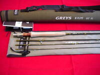 Hardy/greys X-flite Fly Rod 9 Ft 4 Line 4 Piece