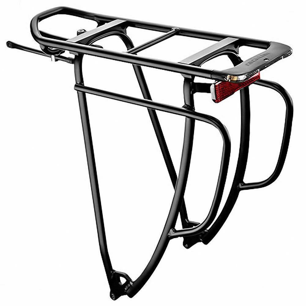 Doubleit Porte-bagages Shine Evo Tour 29 in sans feu de position noir Vélo