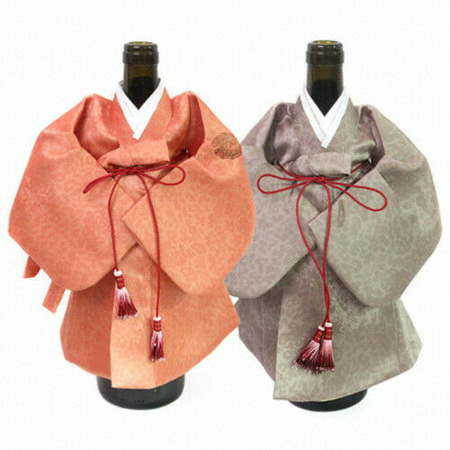 Bouteille de vin Housse Lot De 2 Korean Traditional hanbok Clothes K