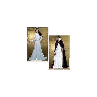 Butterick B4377 Misses Medieval Kirtle Dress Cape Pattern Sz 14 to 20 -  Uncut for sale online | eBay
