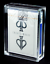 Carat-X1-Card-Case-For-Playing-Card-Decks-Strong-Clear-Acrylic-amp-Magnetic-Seal thumbnail 2