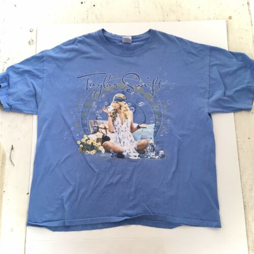 Vintage Taylor Swift Fearless Tour T Shirt Pop Con