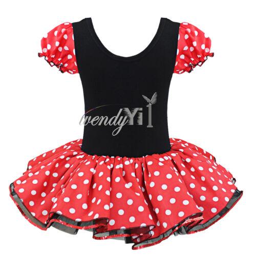 New Baby Girls Cartoon Minnie Mouse Party Cute Casual Dress Kids Summer Skirt