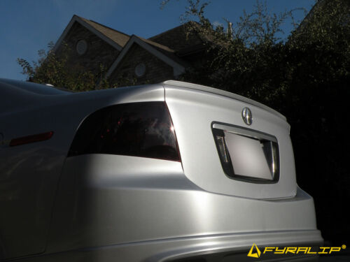 Painted Rear Trunk Lip Spoiler For Acura TL 04-08 Anthracite Met NH-643M